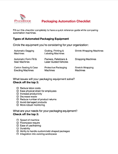 automation checklist cover